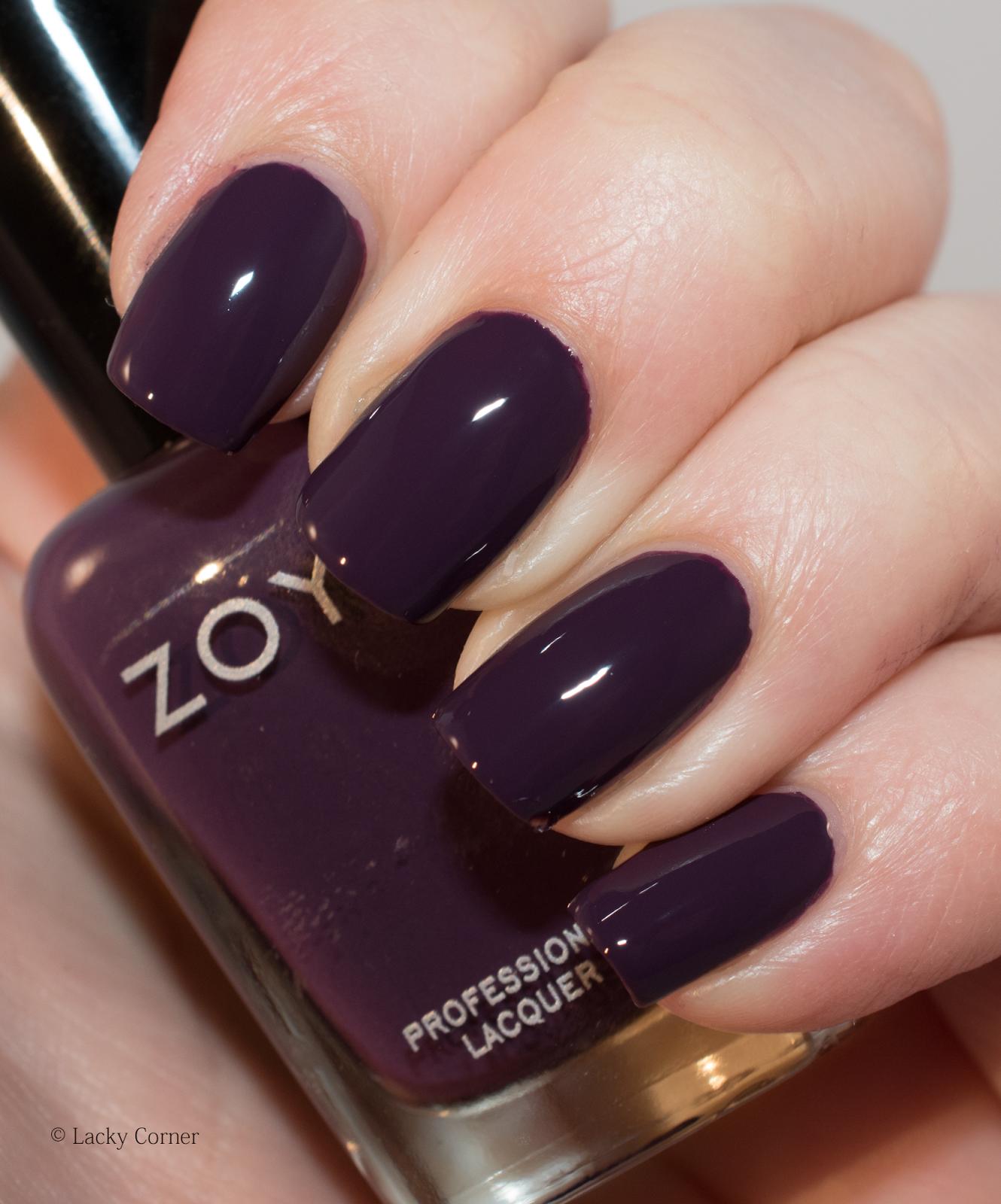 Lacky Corner: Zoya - Monica | Tips & Toes | Pinterest