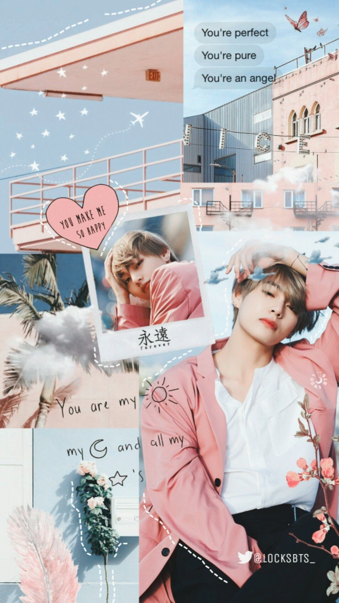Pin By Lshlsntg On Wallpapers In 2018 Bts Bts Wallpaper Bts Taehyung