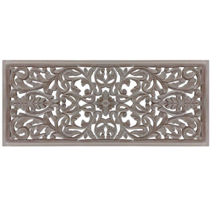 21x21 Embossed Metal Medallion Metal Walls Home Decor Plank Art