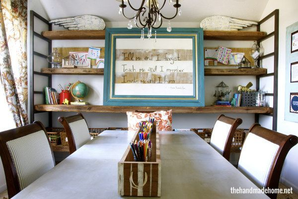 Not Using Your Formal Dining Room Reclaim It As Your Classroom