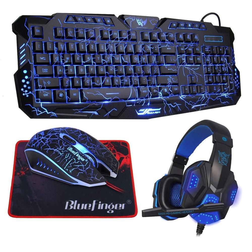 Keyboard mouse headset set adapter for ps4 ps3 xbox one