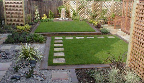 Grind Tuin Aanleggen : Kleine tuin met grind en gras aanleggen tuin