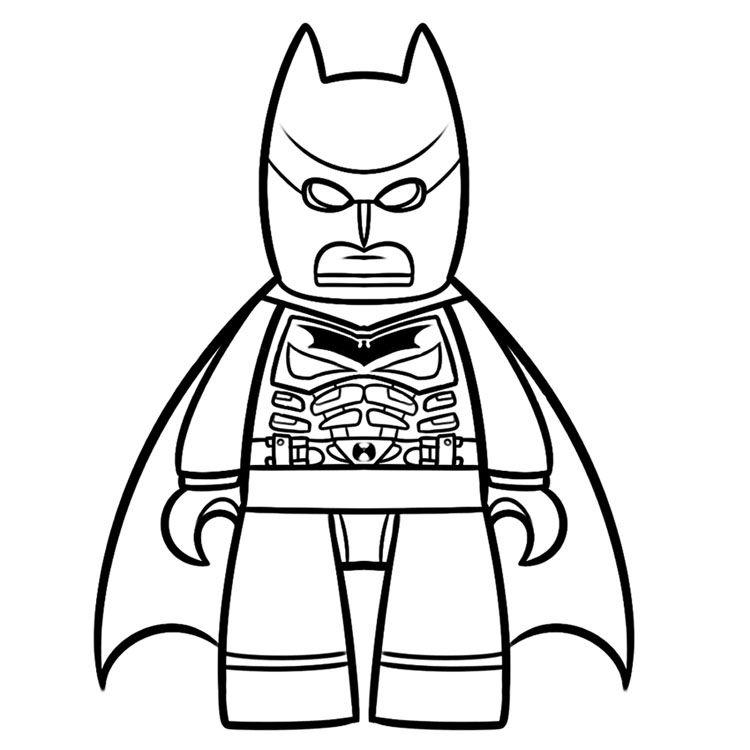 Batman Coloring Pages | Comic Book Coloring Pages | Pinterest | Lego ...