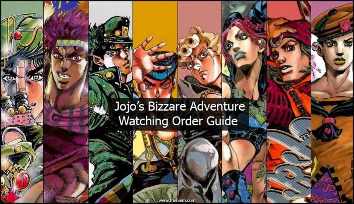 What Order Do You Watch JoJo? JoJo's Bizarre Adventure