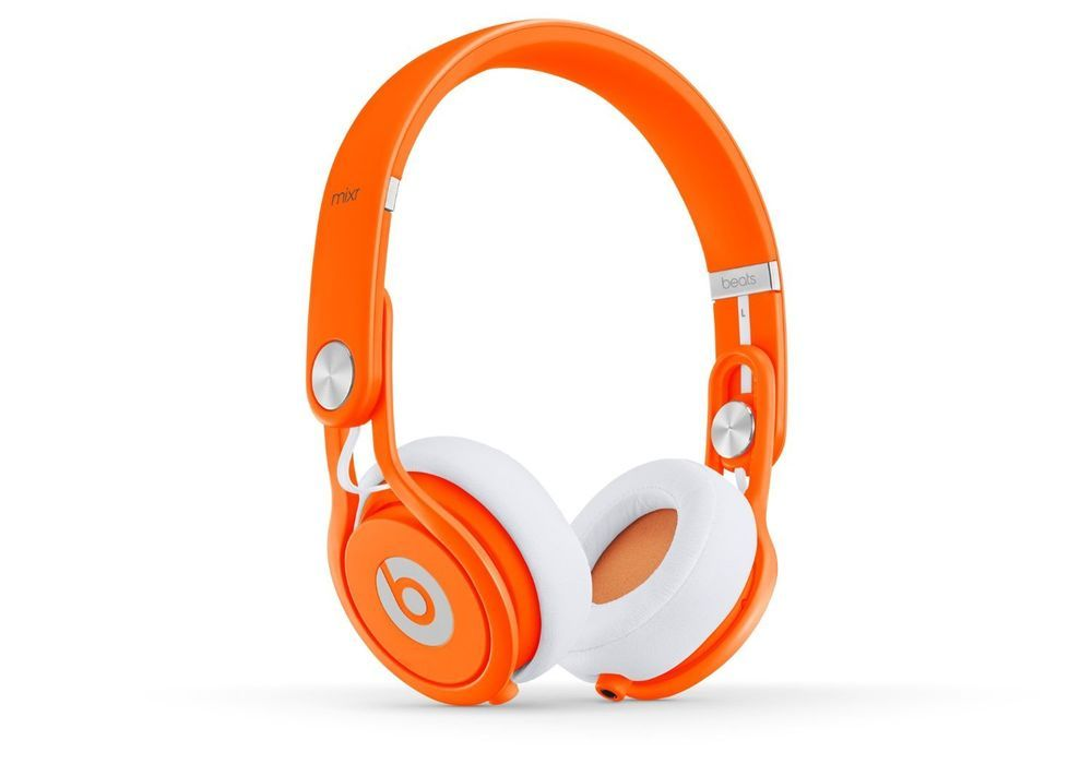 Beats by Dr. Dre Mixr Headband Headphones - Neon Orange #BeatsbyDrDre