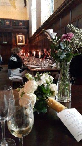 A late-Summer Wedding at the Cambridge, England