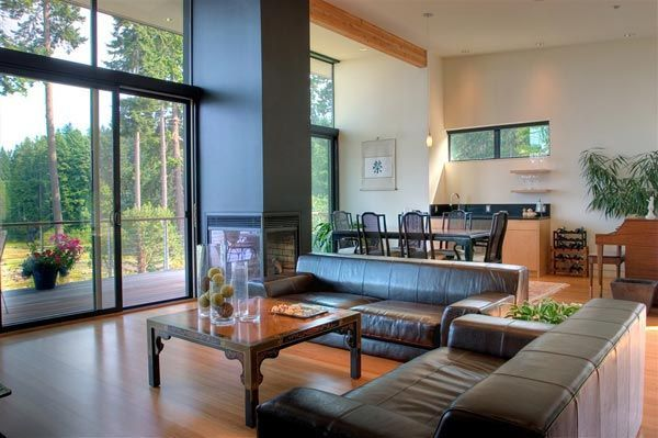 Genial Clean Modern Lines Home Design : Bainbridge Island Home