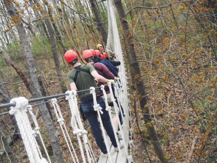Walk Above A Gorgeous Forest With Lake Geneva Canopy Tours In Wisconsin Lake Geneva Wisconsin Wisconsin Travel Lake Geneva