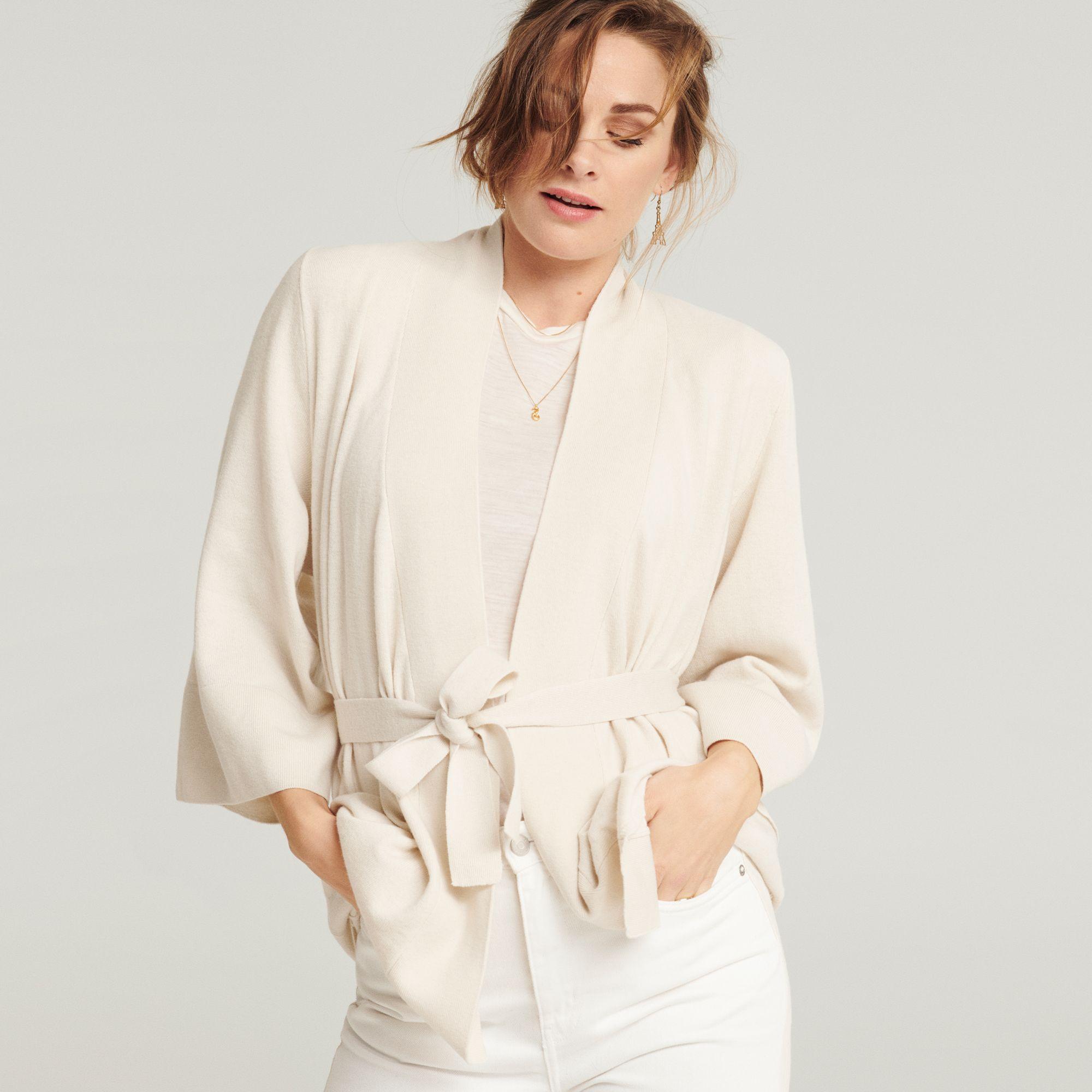 Loungewearjakke ull Jenny Skavlan