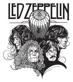 Led Zeppelin, por Gui Soares