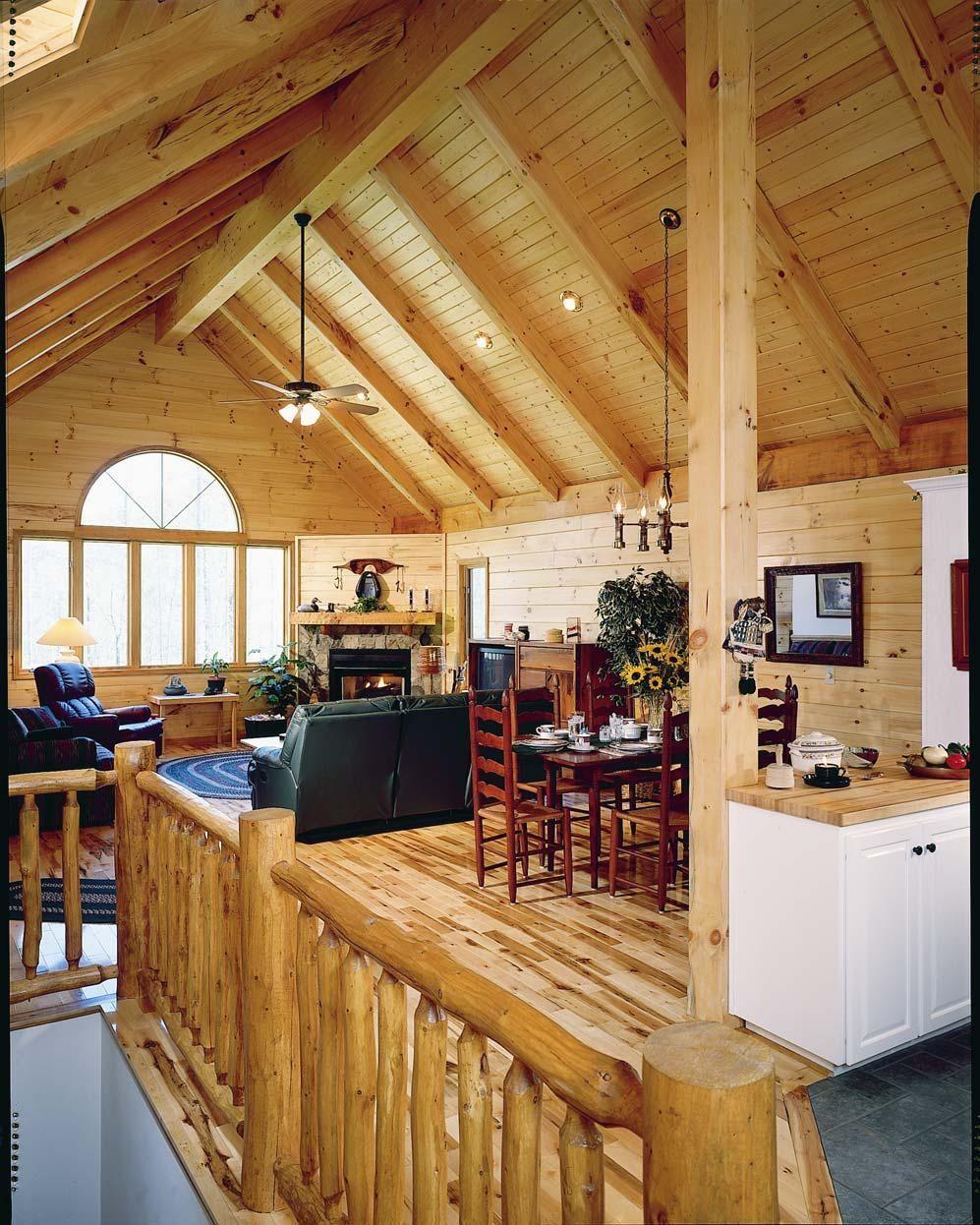 Garage Door Recessed Lights: Timber Frame Trusses