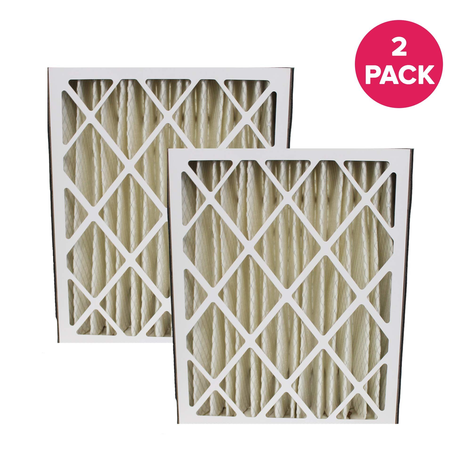 Think Crucial 2 Replacements Compatible With Carrier 20x25x5 Mf2025 And M8 1056 Pleated Furnace Air Filter 20 X 25 X 5 Merv 8 Furnace Filters Furnace Merv