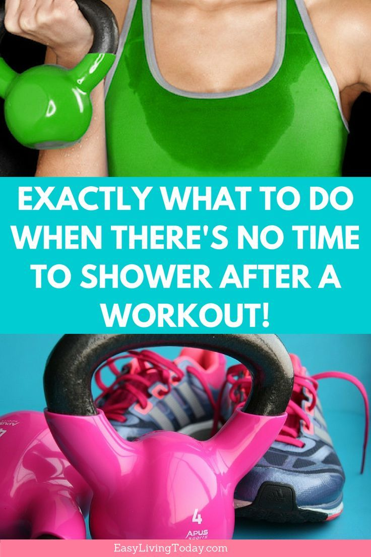 No time to shower after a workout? No problem! There is a super easy workaround to keep you feeling...