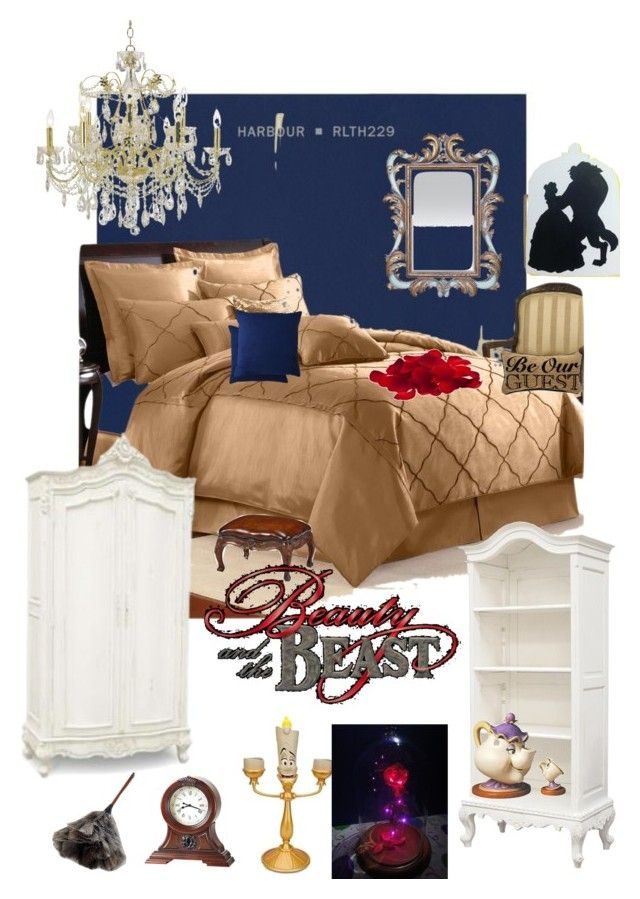 . Disneyhome  Beauty and the Beast inspired Bedroom   House themes