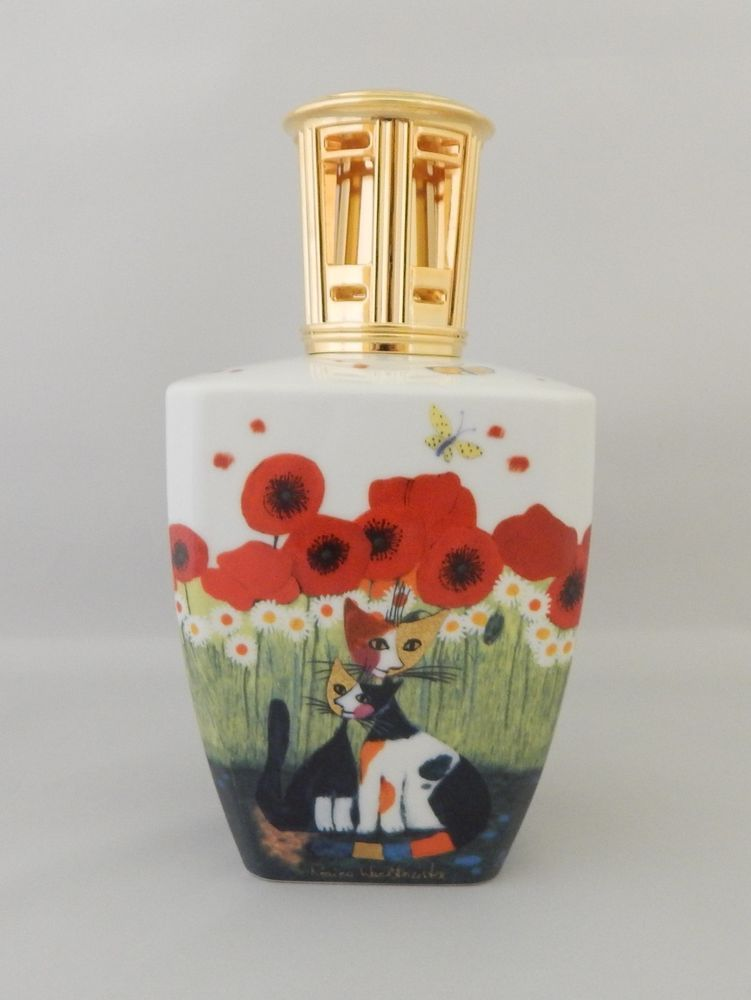 Lampe Berger Goebel Rosina Wachtmeister Porcelain Lamp Porcelain Lamp Parfume Bottle Porcelain