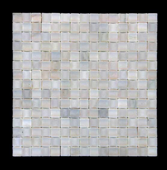 Lyka White Modern Marble Mosaic Panels Tile Kitchen Backsplash 99 Cent Samples Ebay
