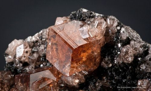 Grossular  Jeffrey Mine, Asbestos, Quebec, Canada