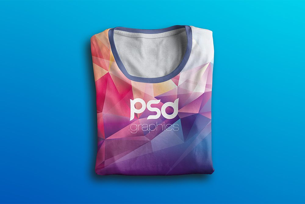 Download Nice Folded T Shirt Mockup Free Psd Download Folded T Shirt Mockup Free Psd A Free T Shirt Mockup Template That Would Make A Perfect Frame For Your Creative