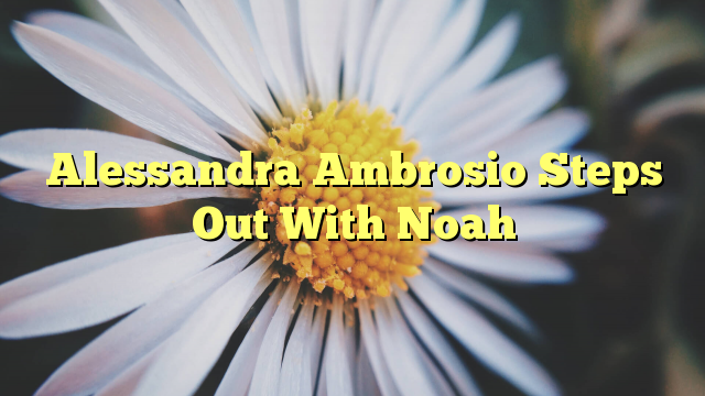 Alessandra Ambrosio Steps Out With Noah - http://doublebabystrollerreviews.net/alessandra-ambrosio-steps-out-with-noah/