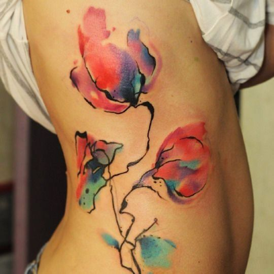 Pinterest On Craque Pour Les Tatouages Aquarelle Tatouage