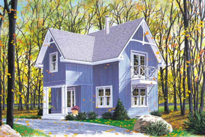 Fresh Country Style House Plans 1352 Square Foot Home 2 Story 3 Bedroom and 1 Bath 0 Garage Stalls by Monster House Plans Plan In 2019 - Model Of farmhouse style homes Review