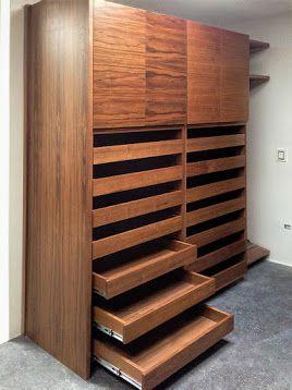 closet con zapateras extraibles trendy