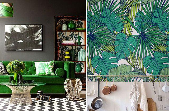 Adopte greenery la couleur pantone 2017 dans ta déco