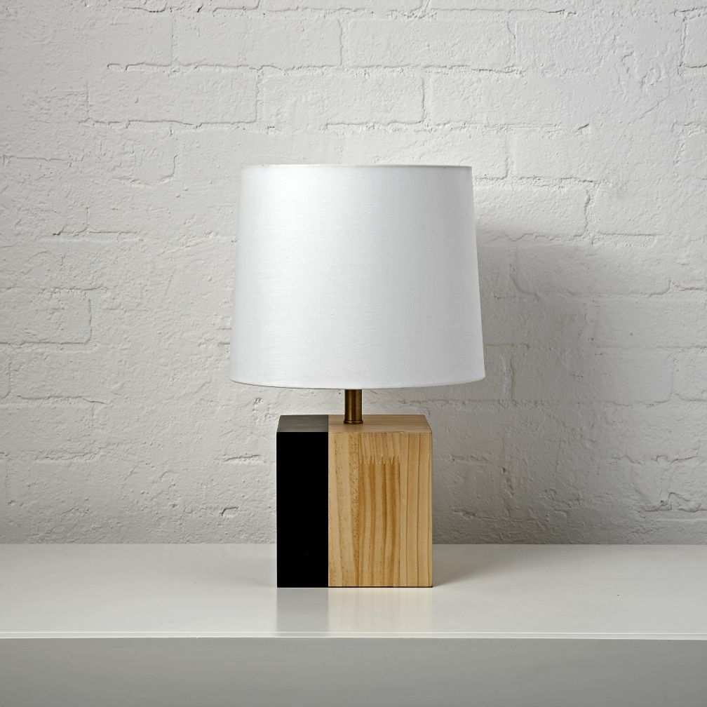 Shop Split Square Table Lamp. We Know It Can Be Tough To Make Home  Decorating Decisions, So We Created This Split Square Table Lamp.