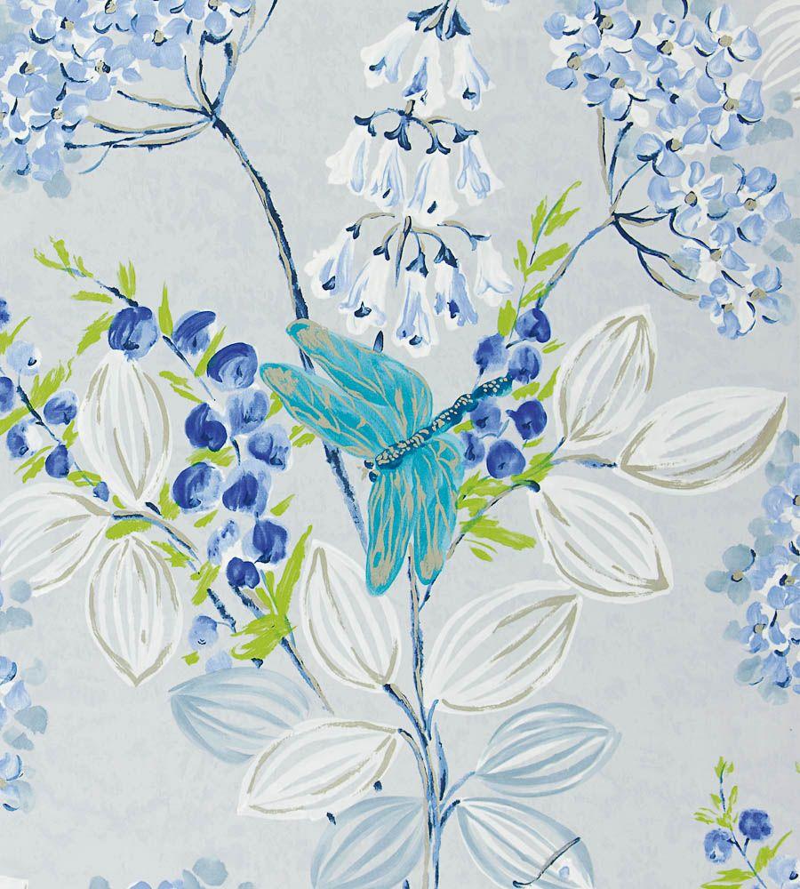 Kimono Blossom fabrics by Designers Guild www