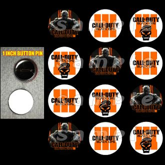 Call of duty black ops 3 buttons call of duty black ops 3 birthday call of duty black ops 3 key chains party favor filmwisefo Image collections