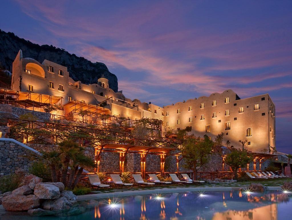 Monastero Santa Rosa Hotel & Spa, Costa de Amalfi, Italia.