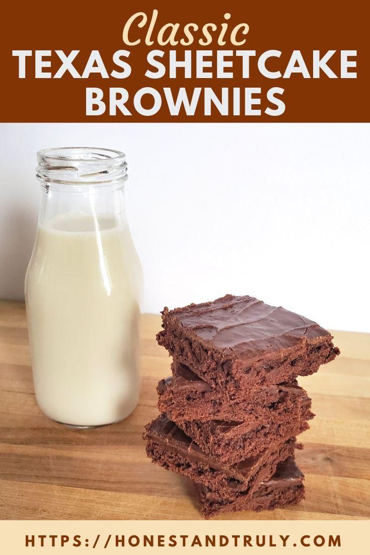 Texas Sheetcake Brownies A Classic Recipe You Need to Make Today These classic Texas sheetcake bro