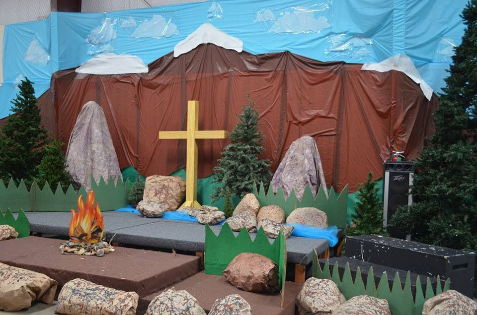 Superior Vbs Camping Theme Decorating Ideas Part - 14: Room Decorations. Incorporate Into Bible Expeditions Room For Everest Theme!