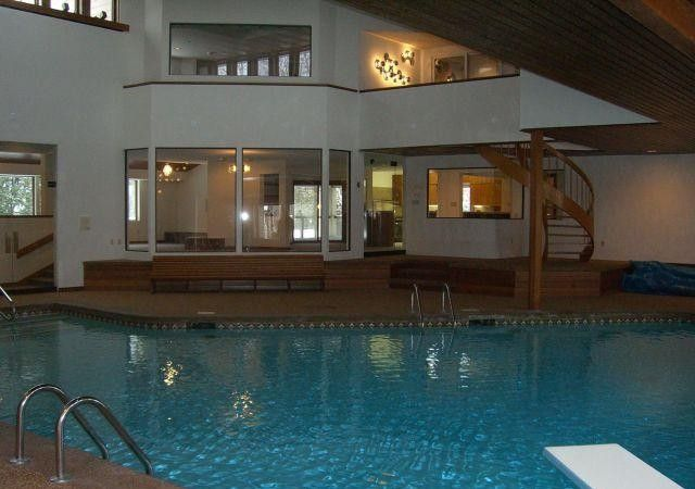 Affordable Mansion With Indoor Pool 10000 Sf Fully Furnished Indoor Pool House Styles Indoor Swimming Pools