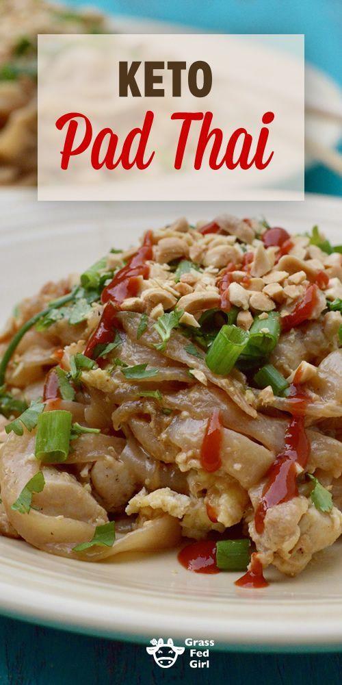 keto pad thai recipe  food recipes thai recipes keto