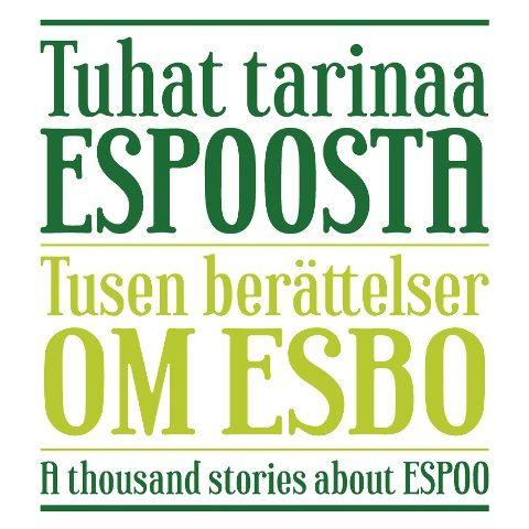 Tuhat tarinaa Espoosta logo