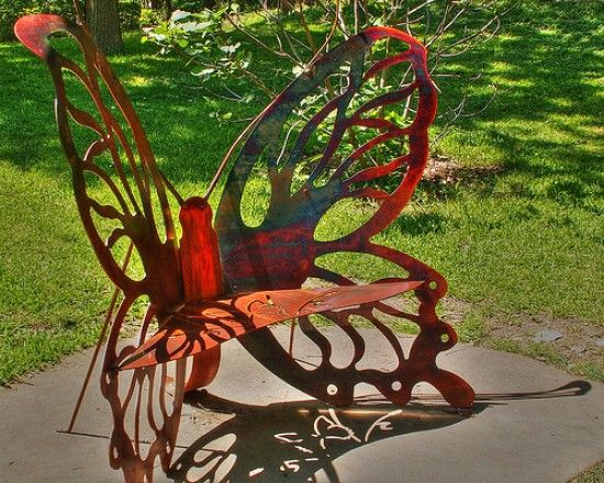 Butterfly Bench · Swing SetsGarden FurnitureDiy ...