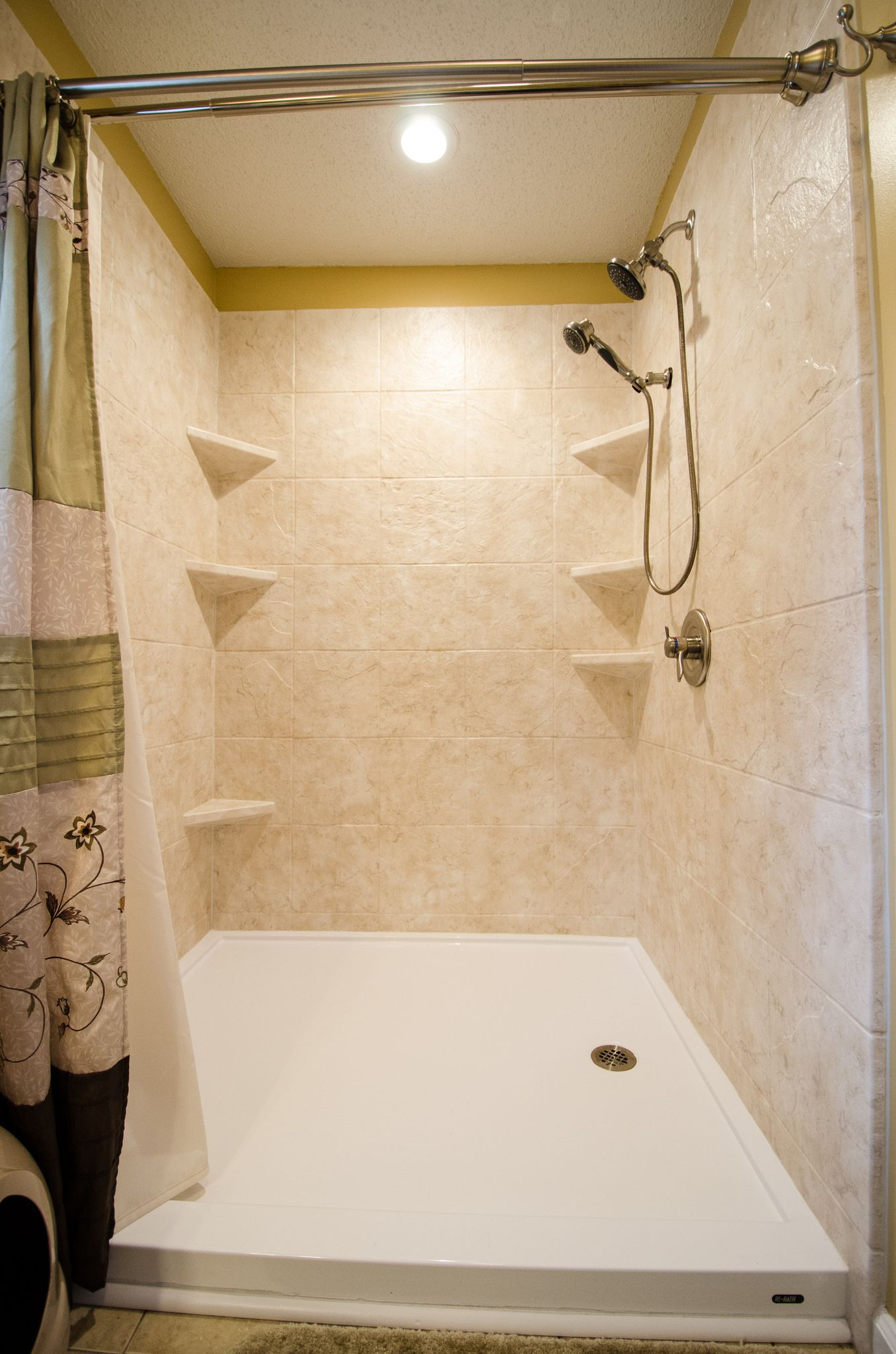 Bathroom Remodel Brought To You By Rebath Of The Triad  Low Threshold Walk