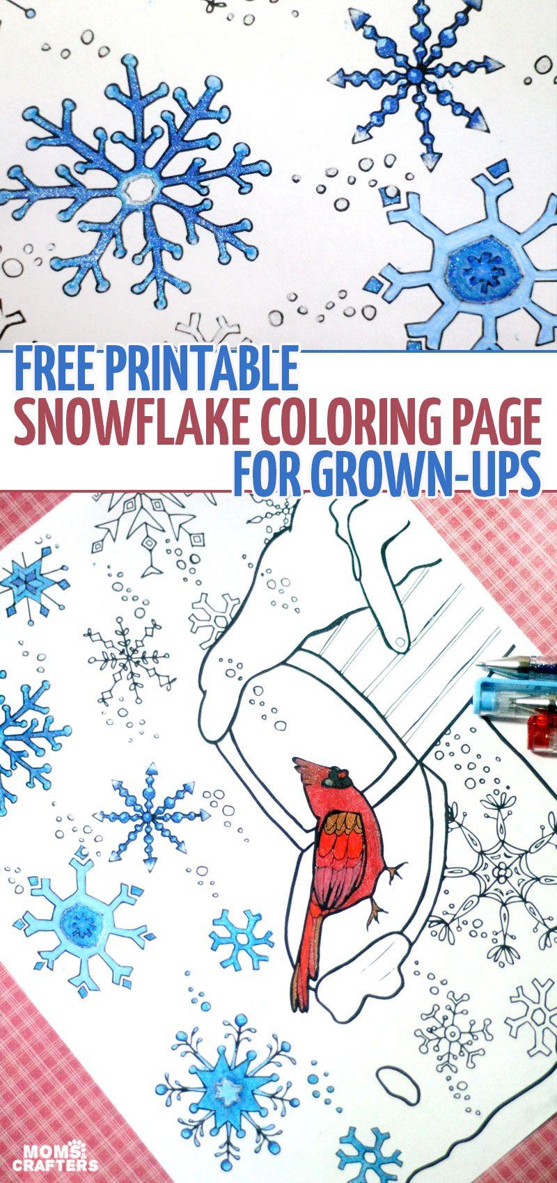 Ausmalbilder Für Erwachsene Winter : Get Your Winter Coloring Fix Here Ausmalbilder Winter