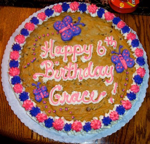 How To Make Giant Cookie Birthday Cakes Cake And