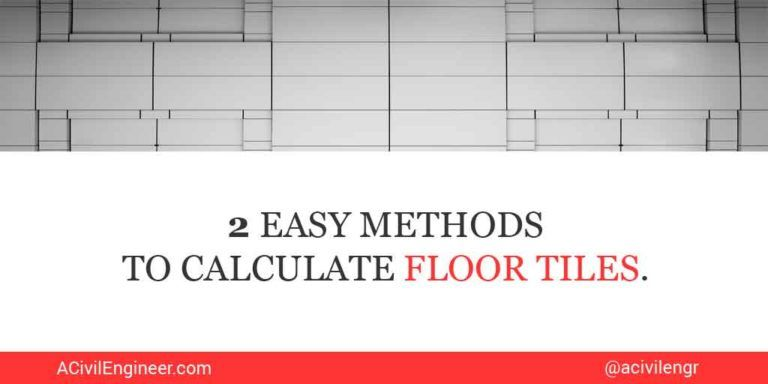 Calculate Tiles Needed For A Floor