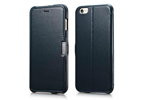 Icarer Iphone 6 Plus 6s Plus Side Open Luxury Series Genuine