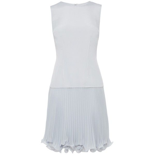Coast Kudos Dress, Grey (€105) ❤ liked on Polyvore featuring dresses, sleeveless maxi dress, skater skirt, sleeve maxi dress, pleated skater skirt and flared skater skirt
