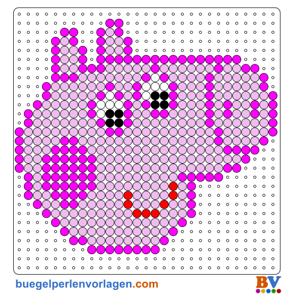 Peppa Pig Perler Bead Pattern And Designs