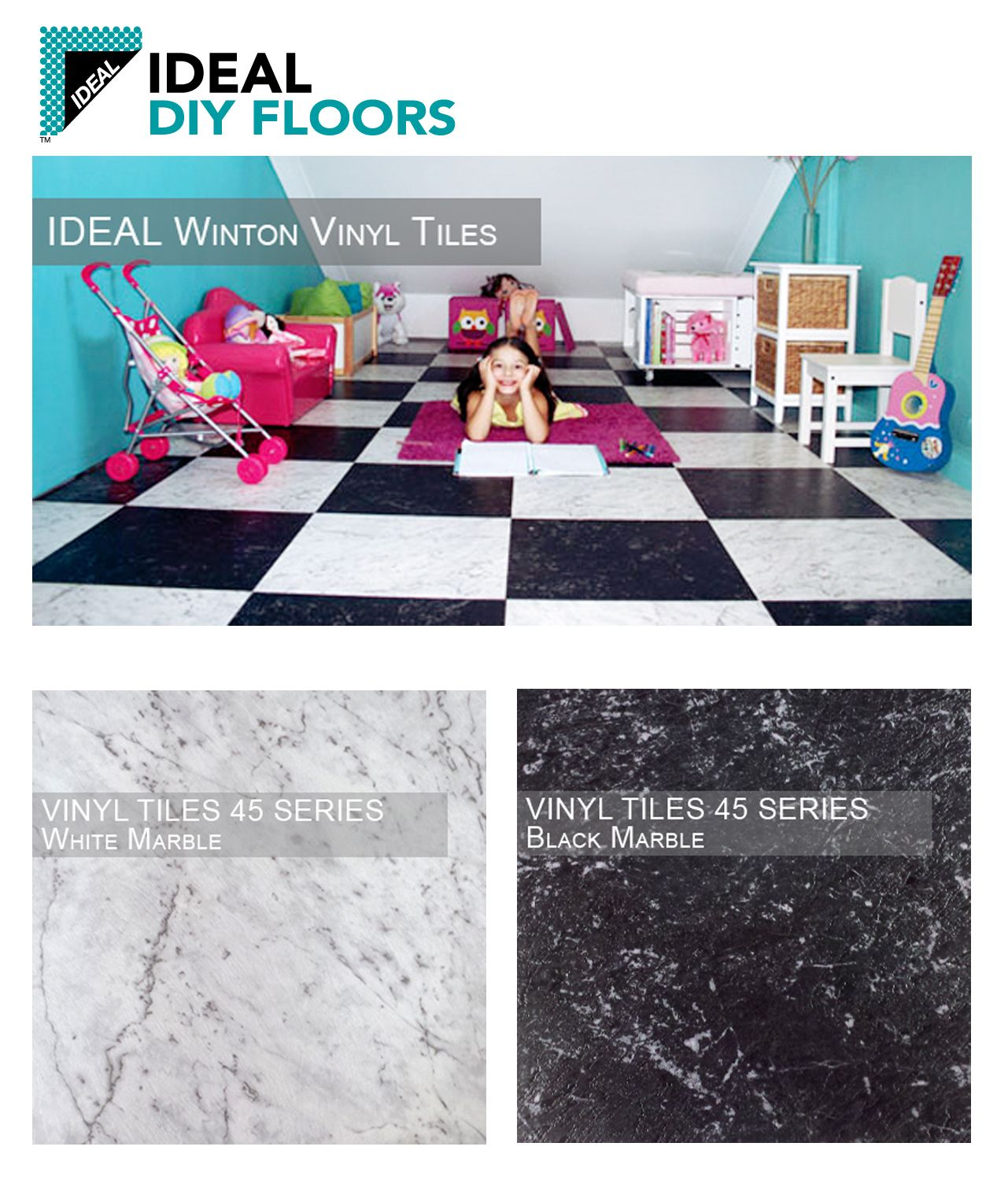 Easy To Lay Down, And Great For Kitchens, Bathrooms And