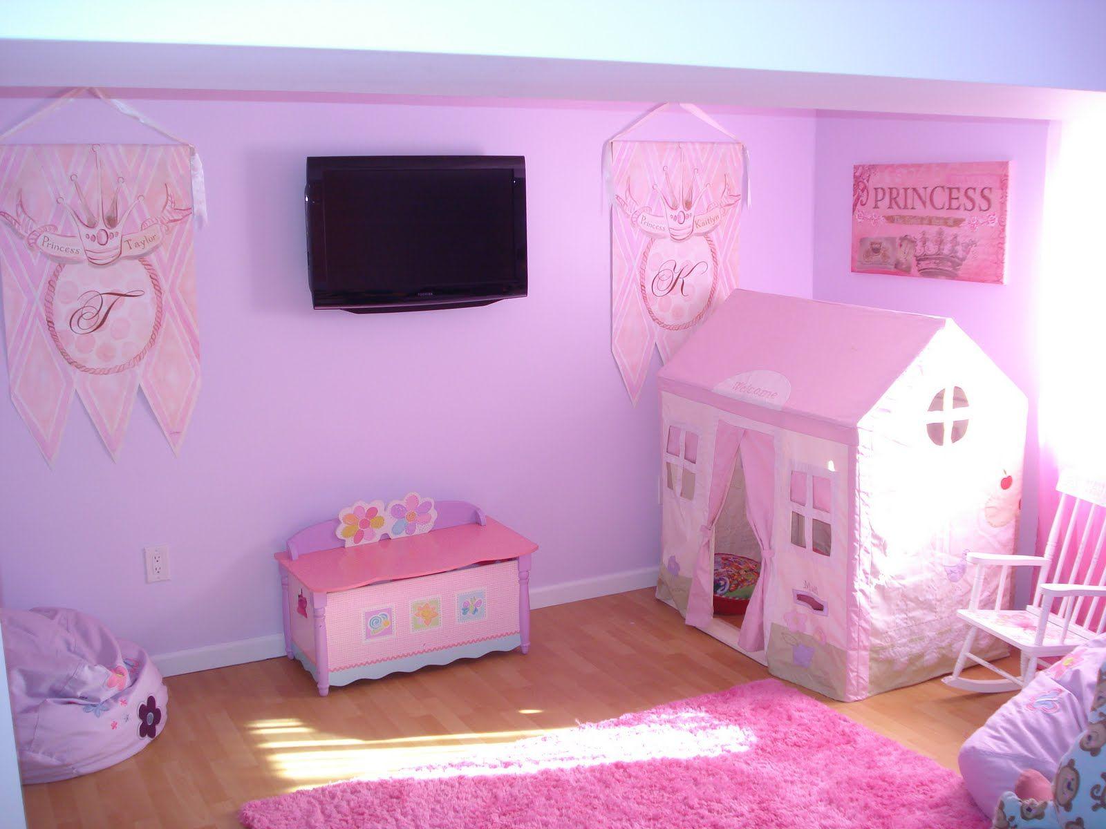 Girl Playroom Decorating Ideas Theme And Decor Ideas For