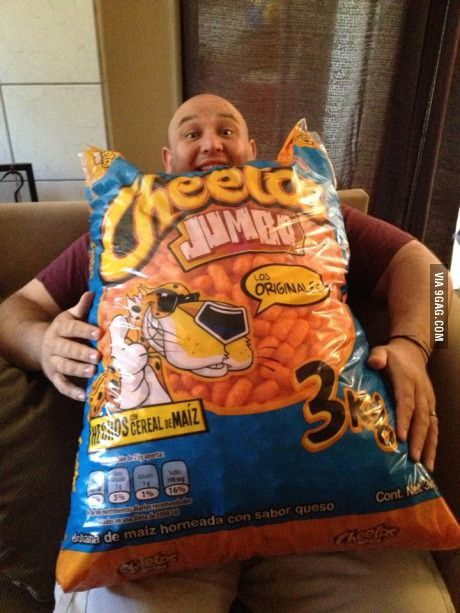 The biggest bag of Cheetos I've ever seen. | Stuff | Bag ...