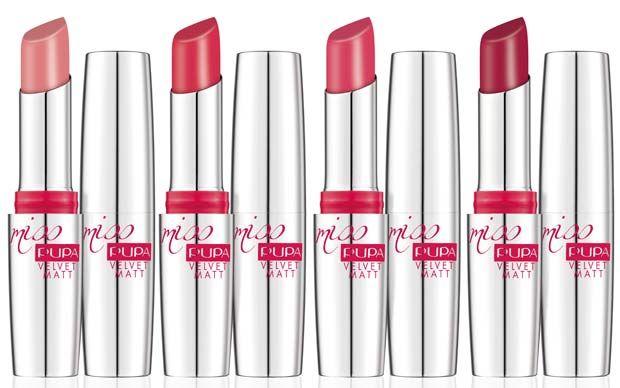 classic styles 100% top quality website for discount Pupa Velvet Matt: rossetti, ombretti, smalti | Beauty and ...