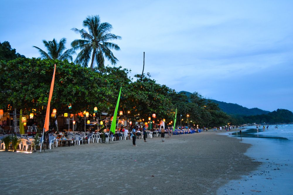 White Sand Beach Koh Chang ม ร ปภาพ