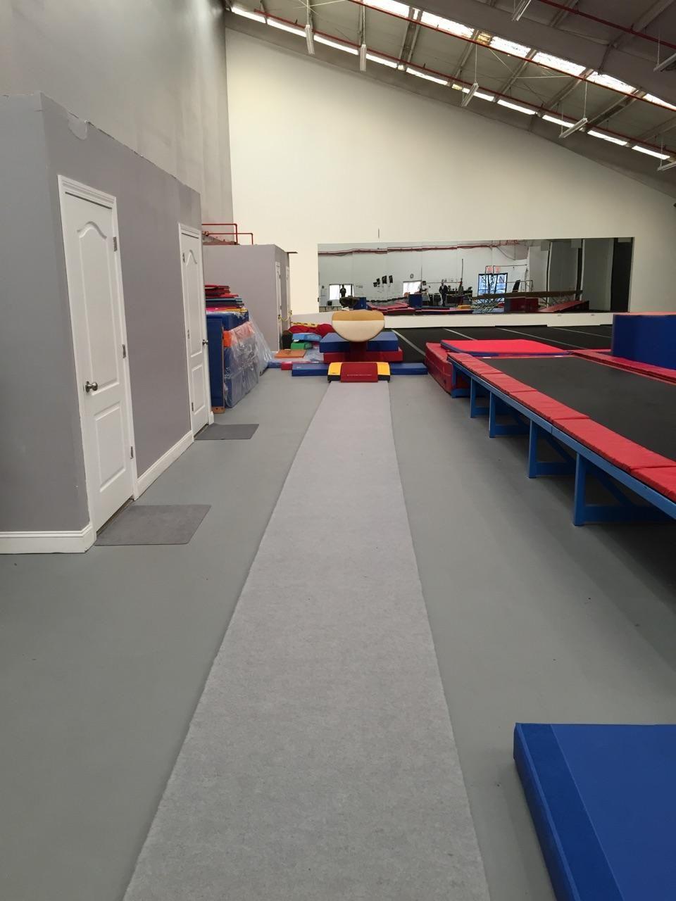 New Vault Area At No Limitz Gymnastics Staten Island Ny Gymnastics Equipment Gymnastics Gym Gymnastics